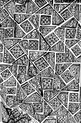 zen doodle pattern