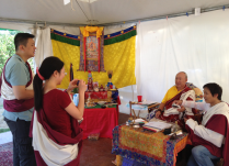 Ivy and Rinpoche