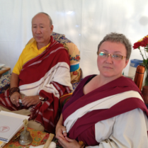 Rinpoche and Julei