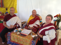 Jay, Rinpoche and Julei