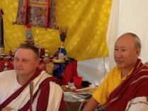 Sasha and Rinpoche