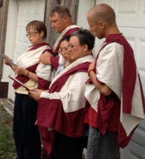Sangha in unison