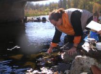 Puja at Salmon River