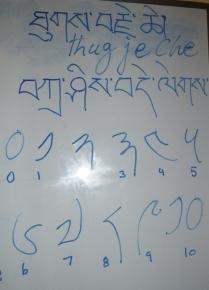 Tibetan class